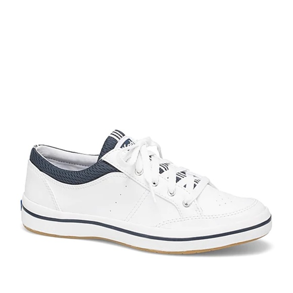 NEW Keds Women's Rebel White Sneakers Casual